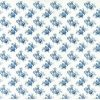 Rice Paper - Country Blue Roses S-