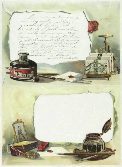 Rice Paper - Letter Writing-