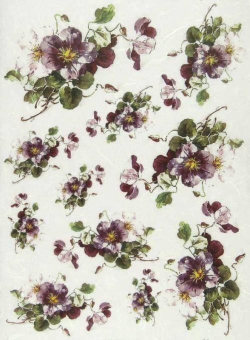Rice Paper - Violet