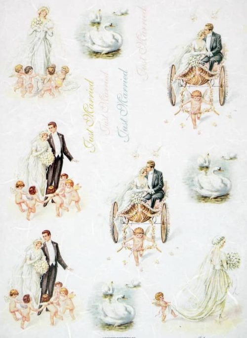 Rice Paper - Vintage Wedding