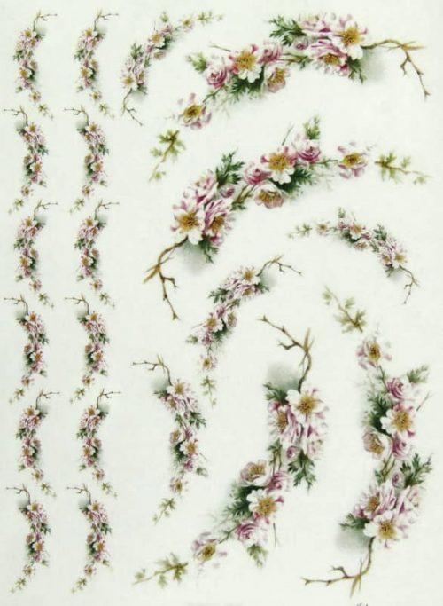 Rice Paper - Flower Garlands