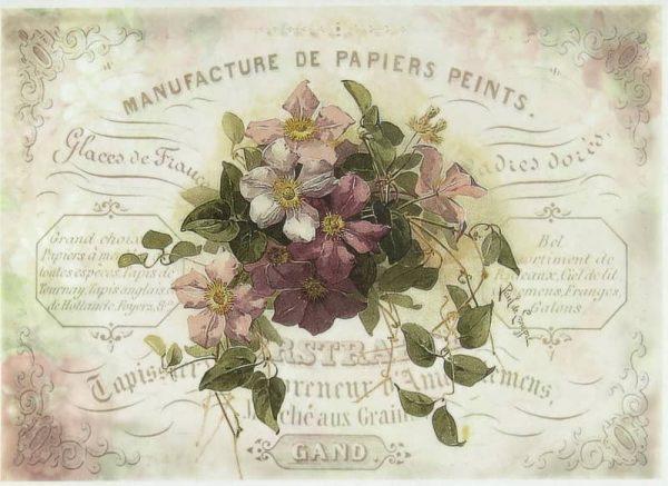 Rice Paper - Flower Bouquet 2