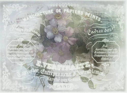 Rice Paper - Flower Bouquet 3