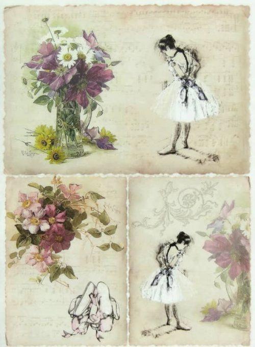 Rice Paper - Ballet Dancer