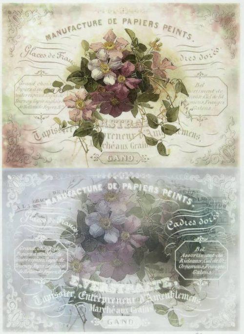 Rice Paper - Flower Mix