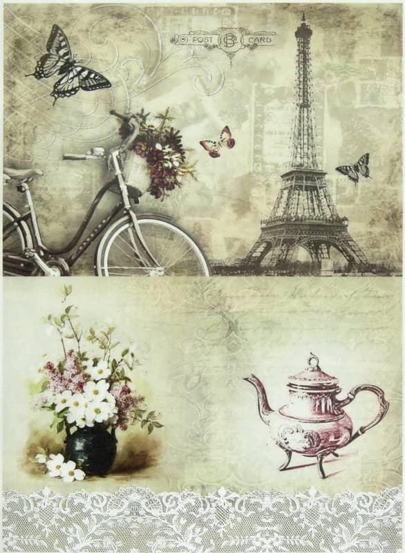 Rice Paper - Paris and Still Life Mix