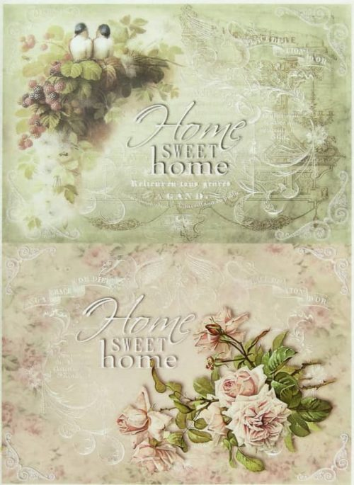 Rice Paper - Home Sweet Home Mix