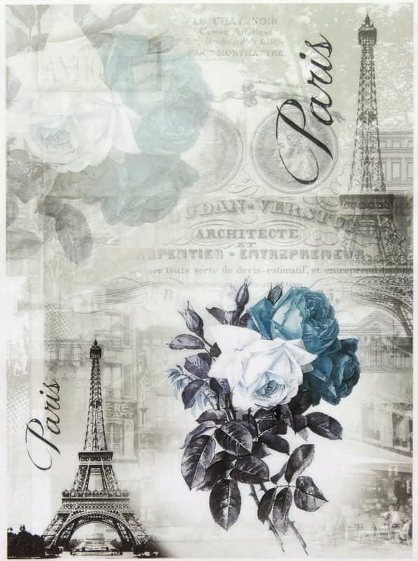 Rice Paper - Paris in Blue