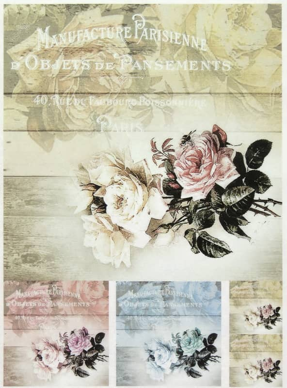 Rice Paper - Old Country Roses