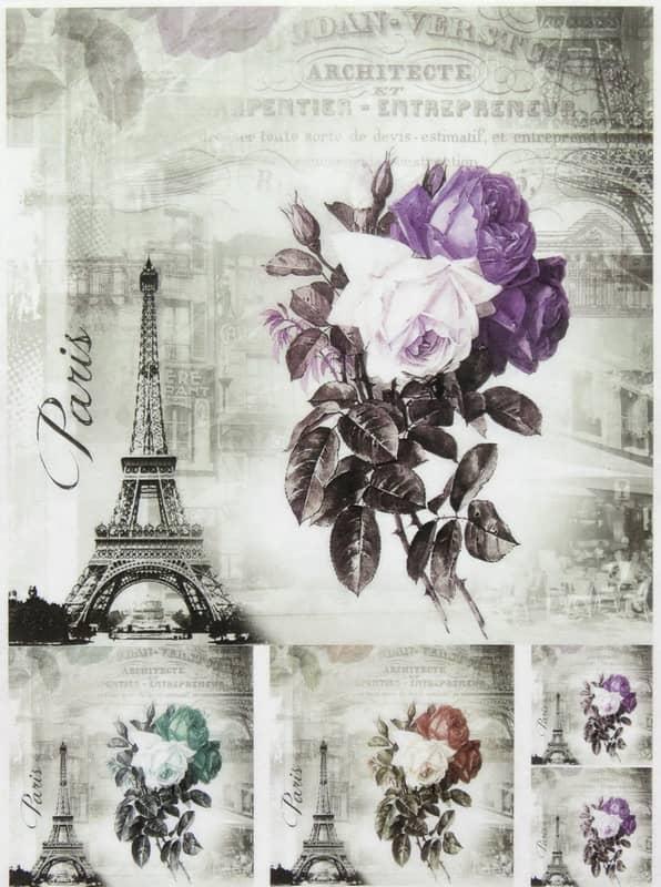 Rice Paper - Paris in Colors