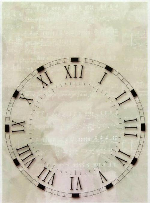 Rice Paper - Clock 2