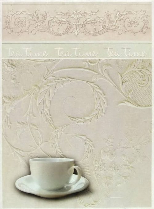 Rice Paper - Vintage Tea Time