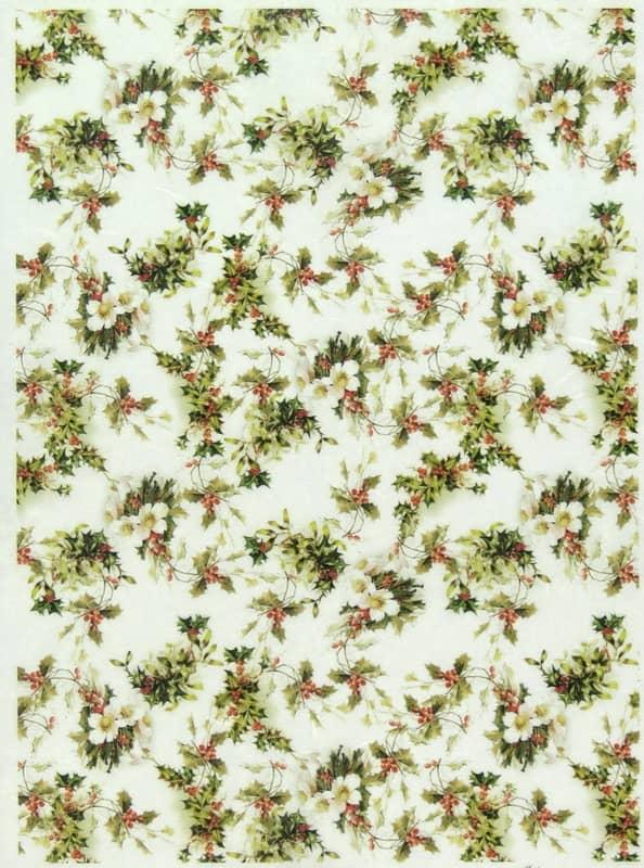 Rice Paper - Mistletoe Small