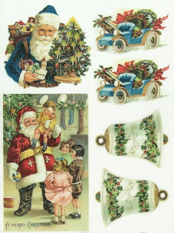 Rice Paper - Santa