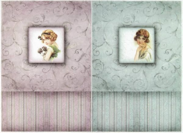 Rice Paper - Vintage Ladies
