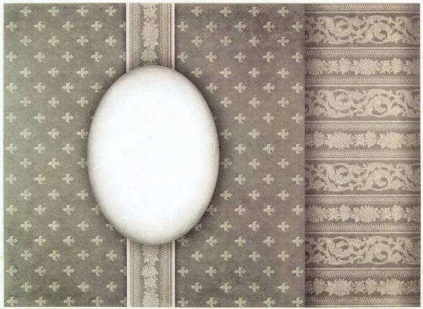 Rice Paper - Divine Motif Taupe