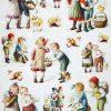 Rice Paper - Vintage Easter Children