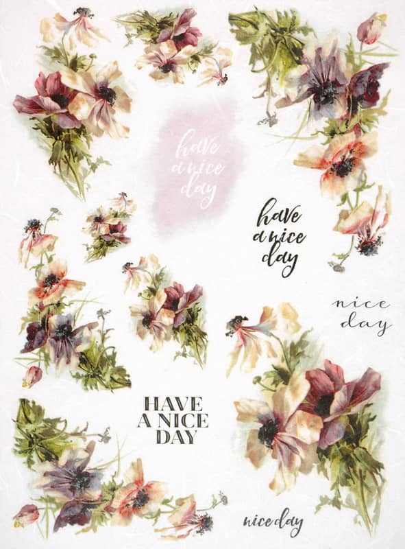 Rice Paper - Flower Day