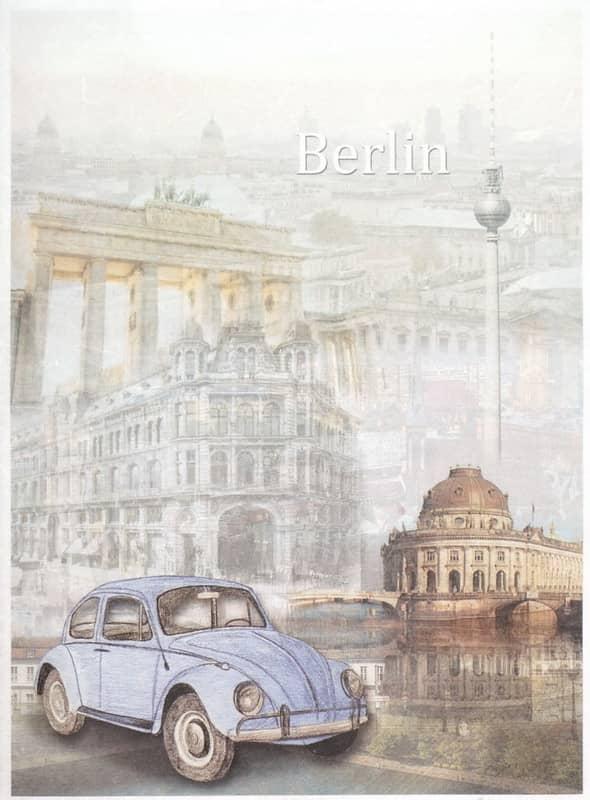 Rice Paper - Classic VW Beetle