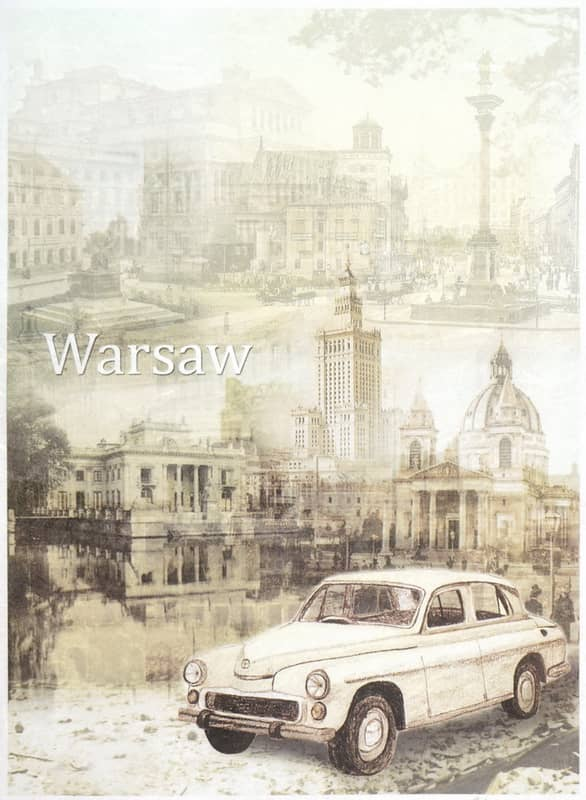 Rice Paper - Veteran Syrena Warsaw