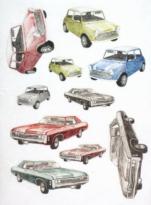Rice Paper - Veteran American and Mini Cars