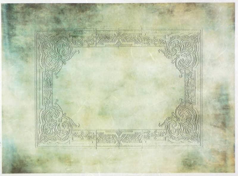 Rice Paper - Antique Frame 2