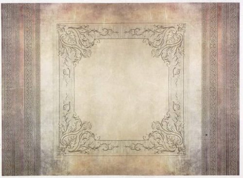 Rice Paper - Antique Frame 3