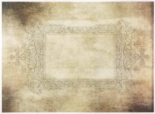 Rice Paper - Antique Frame 4