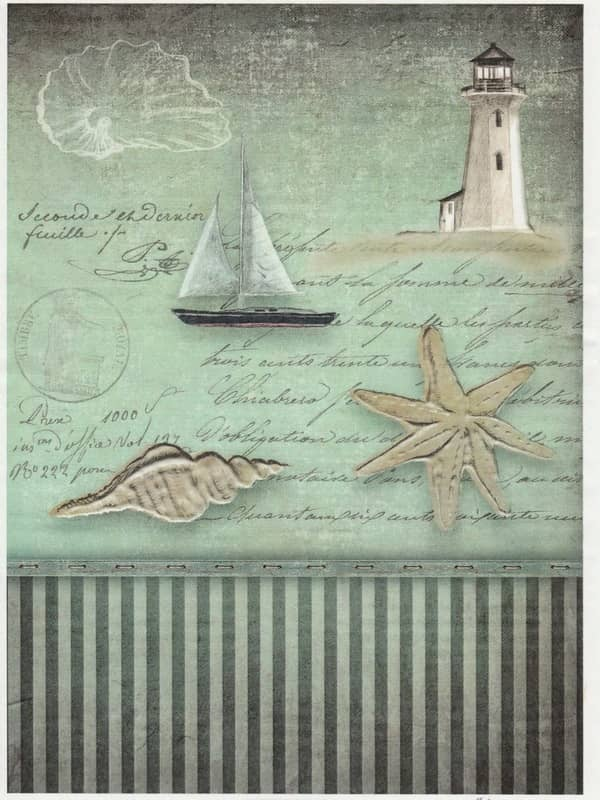 Rice Paper - Old Maritime Card 3