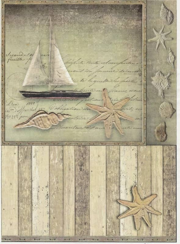 Rice Paper - Old Maritime Card 4