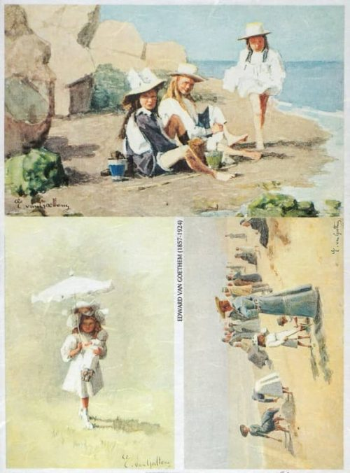 Rice Paper - On the Beach