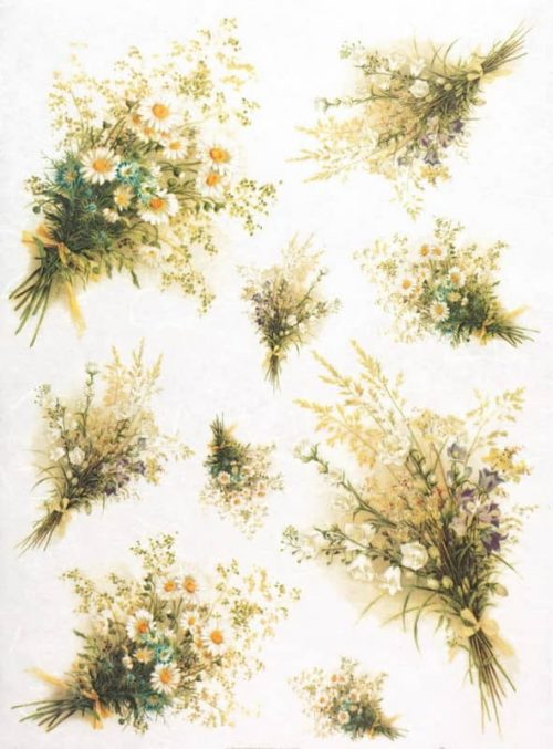 Rice Paper - Summer Bouquets