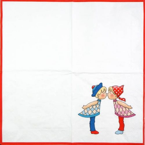 Lunch Napkins (20) - Kissing
