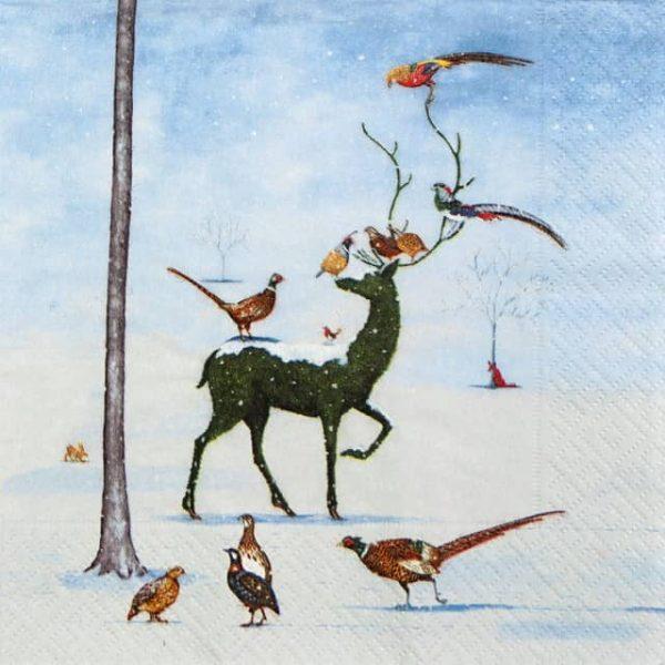 Lunch Napkins (20) - Winter Wunderland