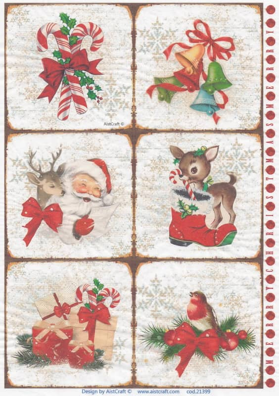 Rice Paper - Merry Christmas