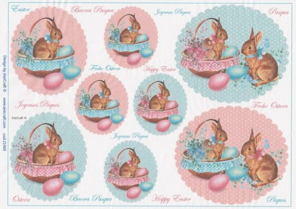 Rice Paper -  Happy Easter