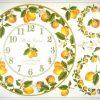 Rice Paper - Lemon Clock