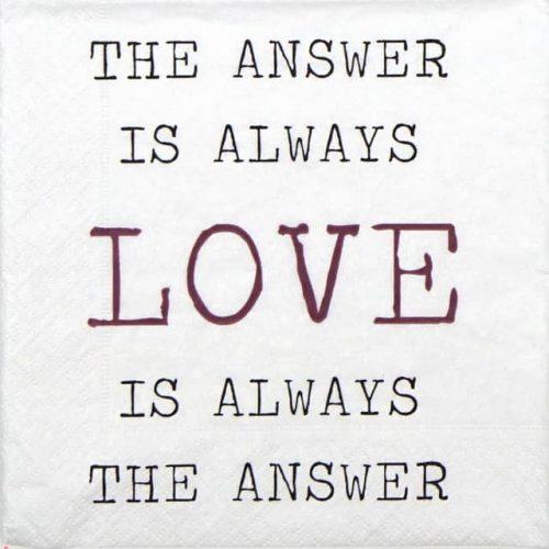 Paper Napkin - Always Love