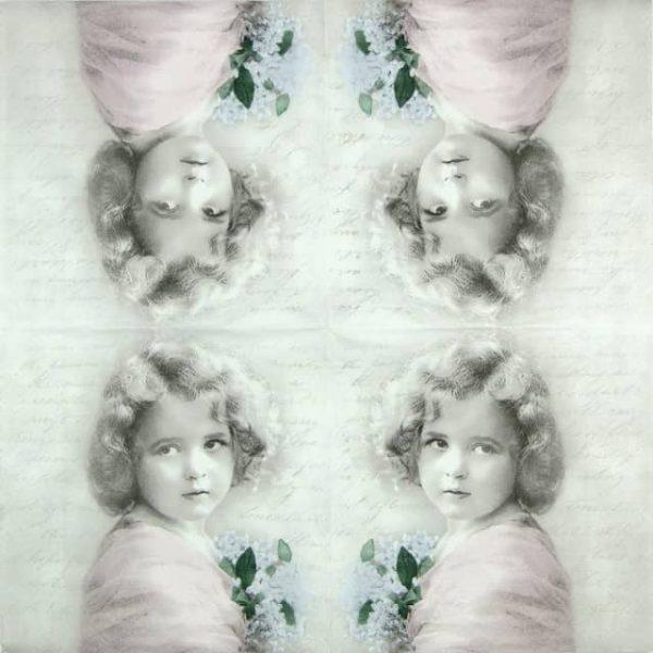 Paper Napkin - Girl Poem
