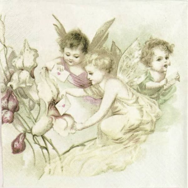 Paper Napkin - Love Letter Fairies