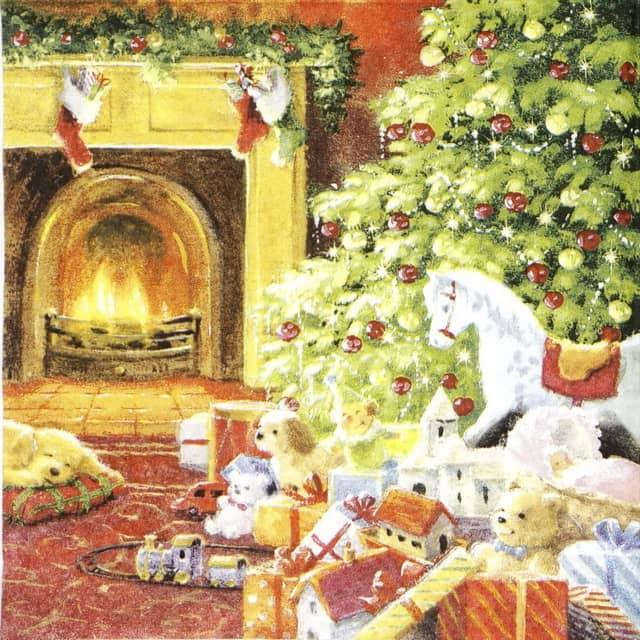 Lunch Napkins (20) - Christmas Eve