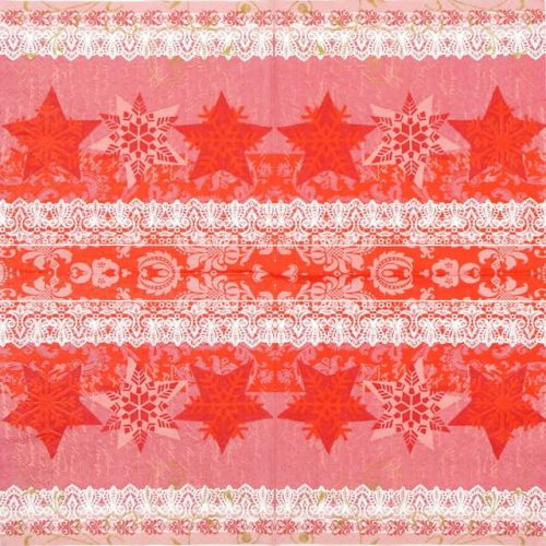 Lunch Napkins (20) -  Stars & Flakes