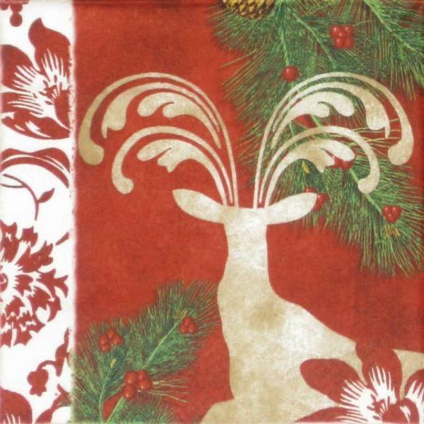 Paper Napkin - Cervi incantate