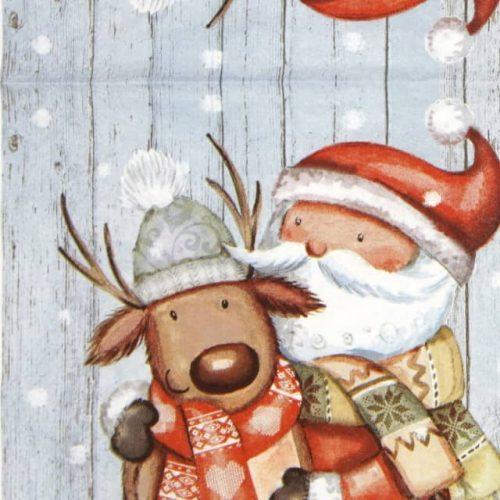 Lunch Napkins (20) - Santa & Reindeer