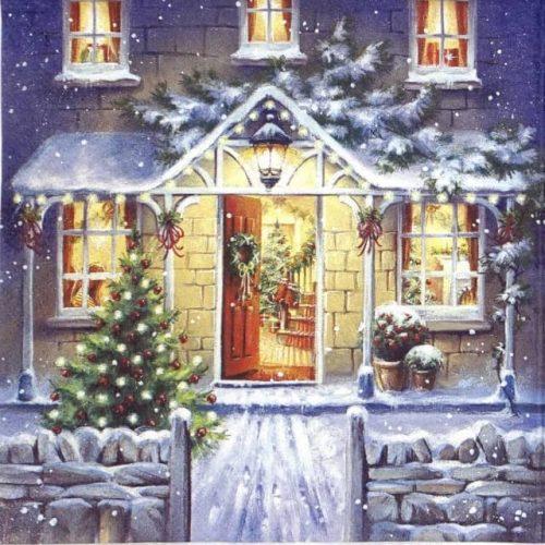 Paper Napkin - Welcome Home at Christmas_Ti-flair_310667