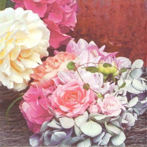 Paper Napkin - Hortensias d' Automne