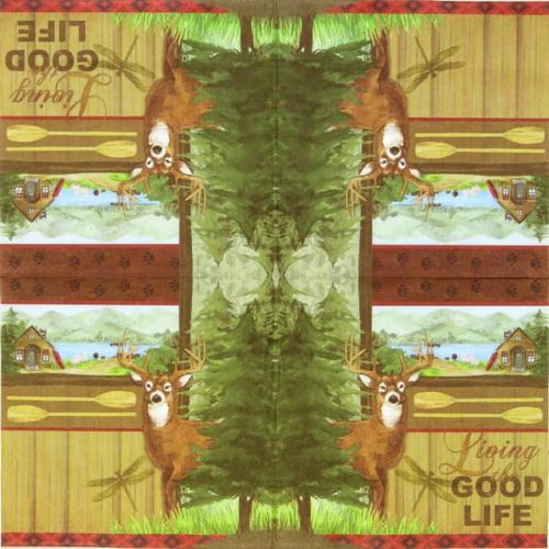 Paper Napkin - Wild Vacation -Living the good Life
