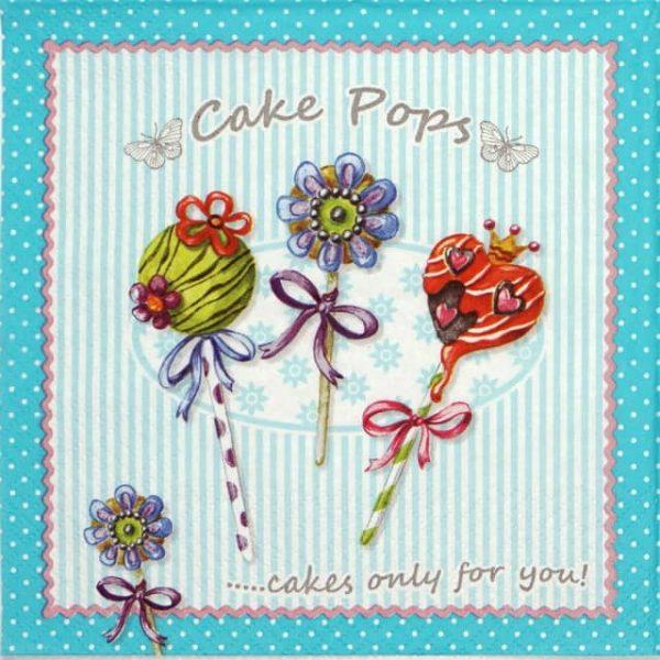 Paper Napkin - Cake Pops