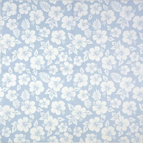 Paper Napkin - Hibisco Aqua