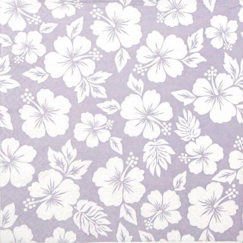 Paper Napkin - Hibisco Lavender
